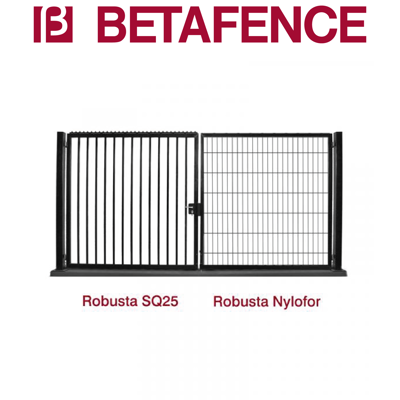 Image for BETAFENCE Robusta Nylofor double swing gate