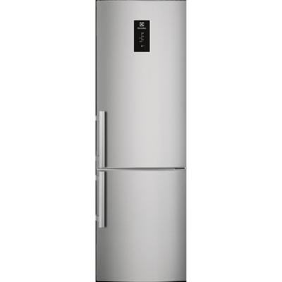 изображение для Electrolux FS Fridge Freezer Bottom Freezer Grey+Stainless Steel Door with Antifingerprint 595 2005