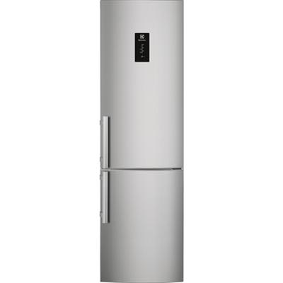 Image for Electrolux FS Fridge Freezer Bottom Freezer Silver+Stainless Steel Door with Antifingerprint 595 2000