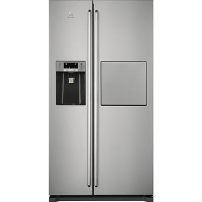 изображение для Electrolux SBS ST Fridge Freezer  Grey+Stainless Steel Door with Antifingerprint 912 1780
