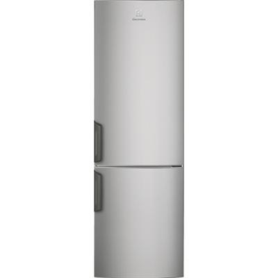 Image for Electrolux FS Fridge Freezer Bottom Freezer Grey+Stainless Steel Door with Antifingerprint 558 1687