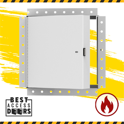 Image for Fire Rated Access Panel Insulated with Mud In Flange - Best Access Doors for Drywall