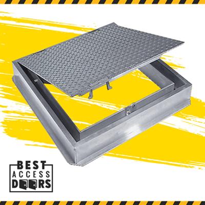Image for Watertight Floor Hatch Cast In Place 300lb/sqft Access Door