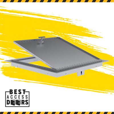 Image for Recessed Aluminum Floor Hatch