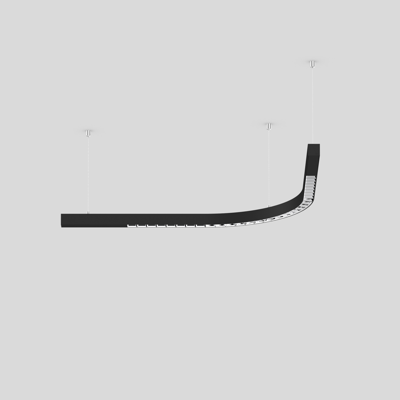 Image for BETO ceiling suspended system CURVE 400 90
