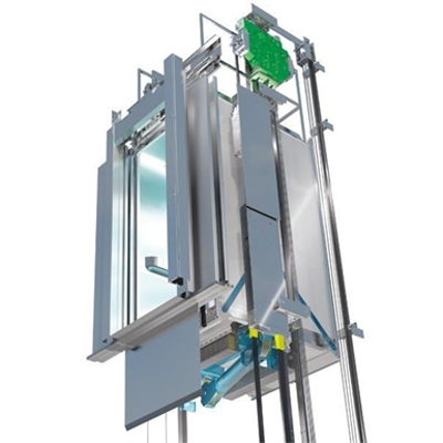 billede til MonoSpace 500 for North America - Low to Mid Rise - Machine Room-less Traction Elevator