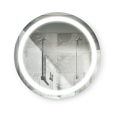 Image for Icon LED Round Wall Mirror