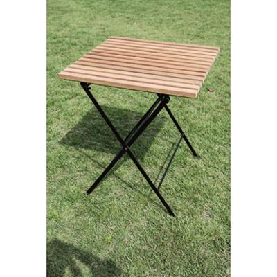 Image for 折り畳みアイアンチークテーブル