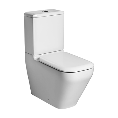 Image for Turano Close Coupled Back to Wall WC Pan
