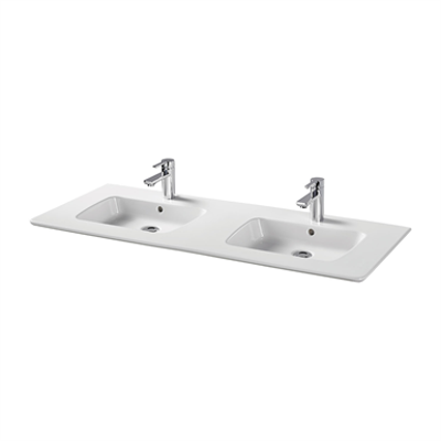 Image for Simeto Due 124cm Vanity washbasin