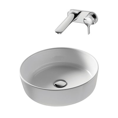 Image for Bonamico 45cm Vessel Washbasin