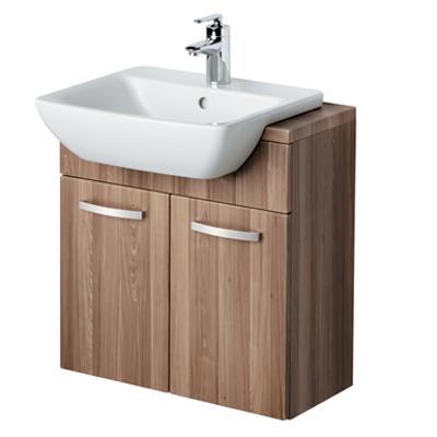 Image for Bow Washbasin Semi-countertop 50cm 1 Taphole