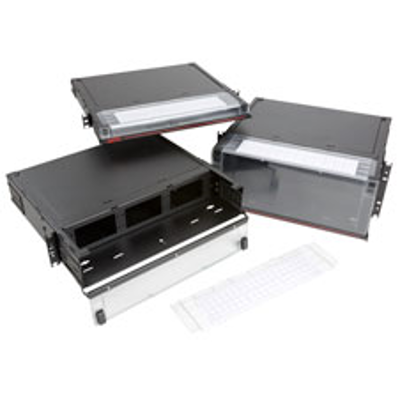 Image pour RTC Fiber Enclosure, Rack Mount, Fixed, 1RU, 2RU, and 4RU Configurations Available