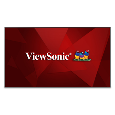 Image for ViewSonic® CDE9800 4K Ultra HD Commercial Display