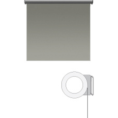 Image for Sivoia® QS Motorized Roller Shade, 100 to 300 sq. ft. of Fabric Maximum, Multiple Mounting Applications