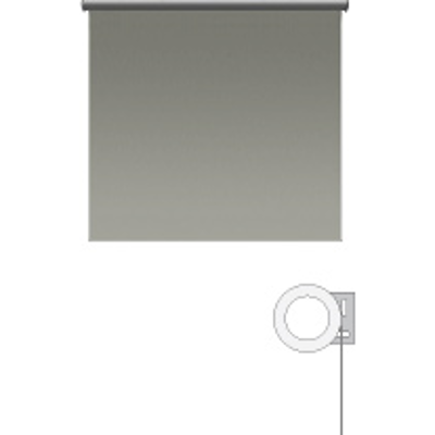 Image pour Sivoia® QS Motorized Roller Shade, 64 sq. ft. of Fabric Maximum, Multiple Mounting Applications