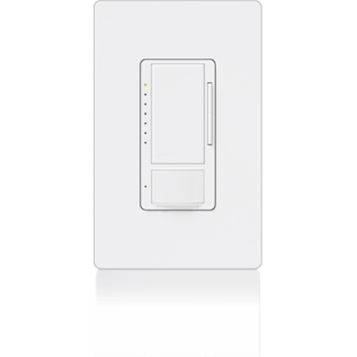 Image for Maestro® Dimmer with Occupancy/Vacancy Sensor, 180 deg Field-of-View, Fine Motion Detection
