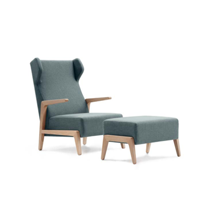 Image for BOOMERANG CHILL ARMCHAIR 003.631.H