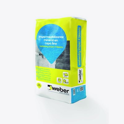 Image for Impermeabilizante cementoso capa fina - weberdry imper F