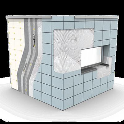 Image for SATE ETICS con EPS -  webertherm ceramic