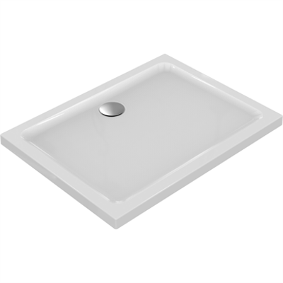 Image for CONNECT Shower Tray 120X90 White IG RCT NO PATN