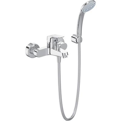 Image for CERAFLEX - Bath Shower Mixer Exposed Chrome & Kit