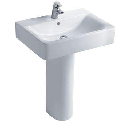 Image for Concept Cube 60cm Washbasin, Pedestal or Furniture 1 Taphole