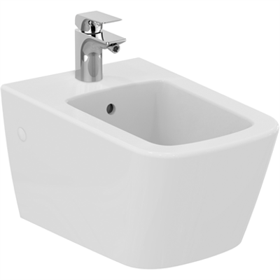 Image for MIA wall mounted bidet 360x550mm, 1 taphole