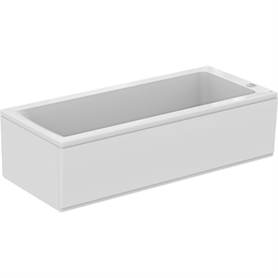 Image for CONNECT BATH 180X80 WHITE WF REC IWS NTH