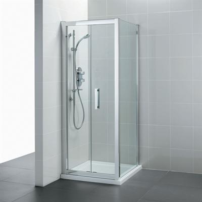 kuva kohteelle Synergy 900mm Shower Side Panel Clear Glass