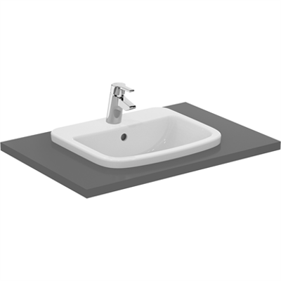 Image for P_Tempo 50cm Countertop Washbasin, 1 Taphole