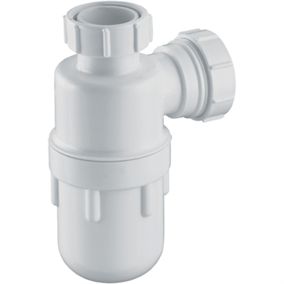 """Image for P_1¼""""x75mm Seal Plastic Bottle Trap"""
