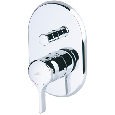 Image for MELANGE build-in bath shower lever operated