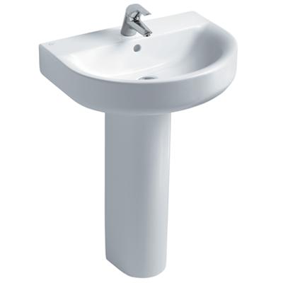 Image for Concept Arc 60cm Washbasin, Pedestal or Furniture 1 Taphole