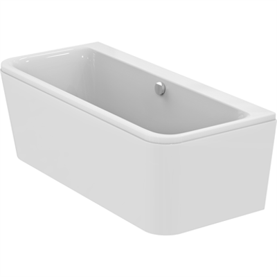 Image for TONIC II D-shape double ended bath tub 1800x800mm