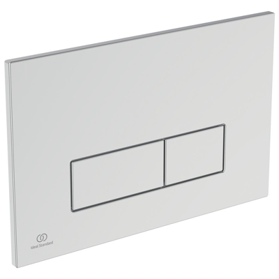 Image for OLEAS P2 FLUSH PLATE DUAL WHITE IDEAL STANDARD BRANDED
