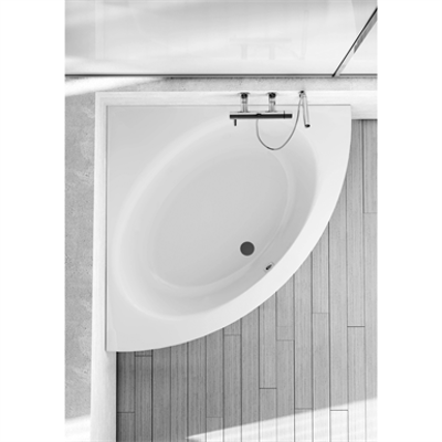 Image for CONNECT Bath CRN 120X120mm Frame PAN White