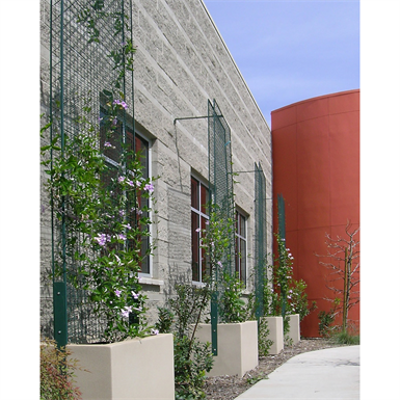 Image for greenscreen®:  Planters with Trellis Panels