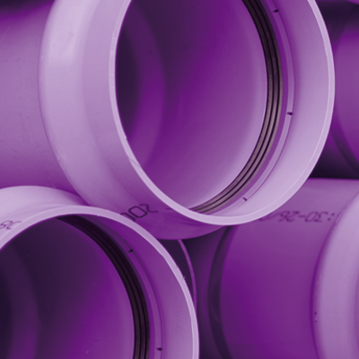 imagen para Tubería TOM de PVC-O PN25 - Reutilización