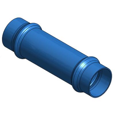 imagen para Manguito pasante PN16 PVC-O  accesorios ecoFITTOM®