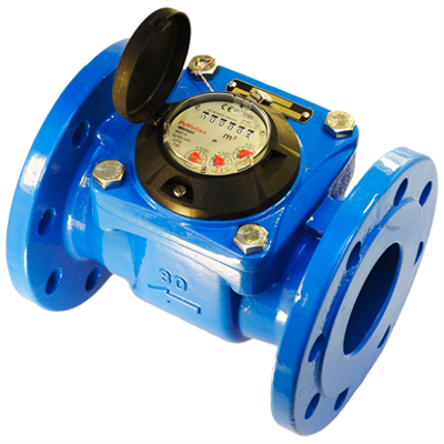 Image for MWN 100 Nubis Propeller Water Meter (Woltman) with Horizontal Rotor Axis