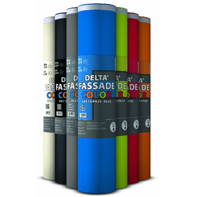 Image for DELTA®-FASSADE COLOR PLUS - Membrane for façade designs with open joints