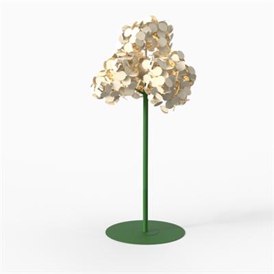 Leaf Lamp Metal Tree 230 이미지