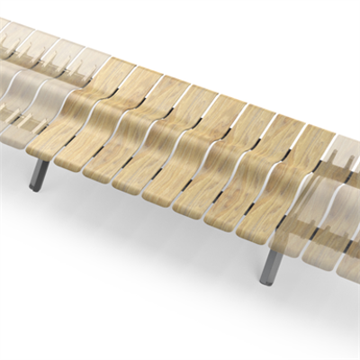 Image for Ascent Double Bench Staight
