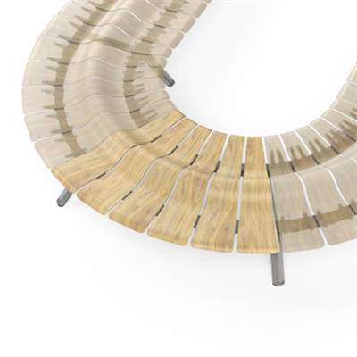 Image for Ascent Double Bench Curved 60deg