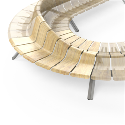 Image for Ascent Double Rise Curved Right 60deg