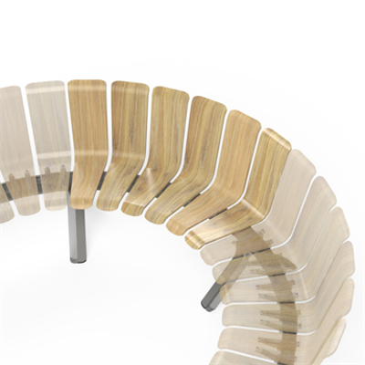 Image for Ascent Single Back Concave 60deg