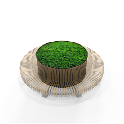 Obrázek pro Radius Planter Divider Circle