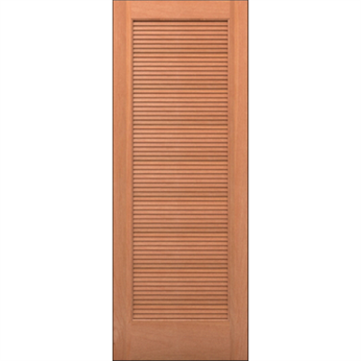 Image for Wood Louver Door - Interior Residential or Commercial with Fire Options - K7330