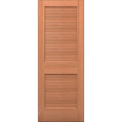 Image for Wood Louver Door - Interior Residential or Commercial with Fire Options - K7300
